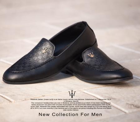 کفش مجلسی مردانه Maserati مدل Kevin